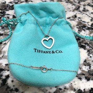 Tiffany & Co Heart Pendant Necklace ❤️